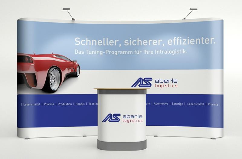 Aberle automation Messestand