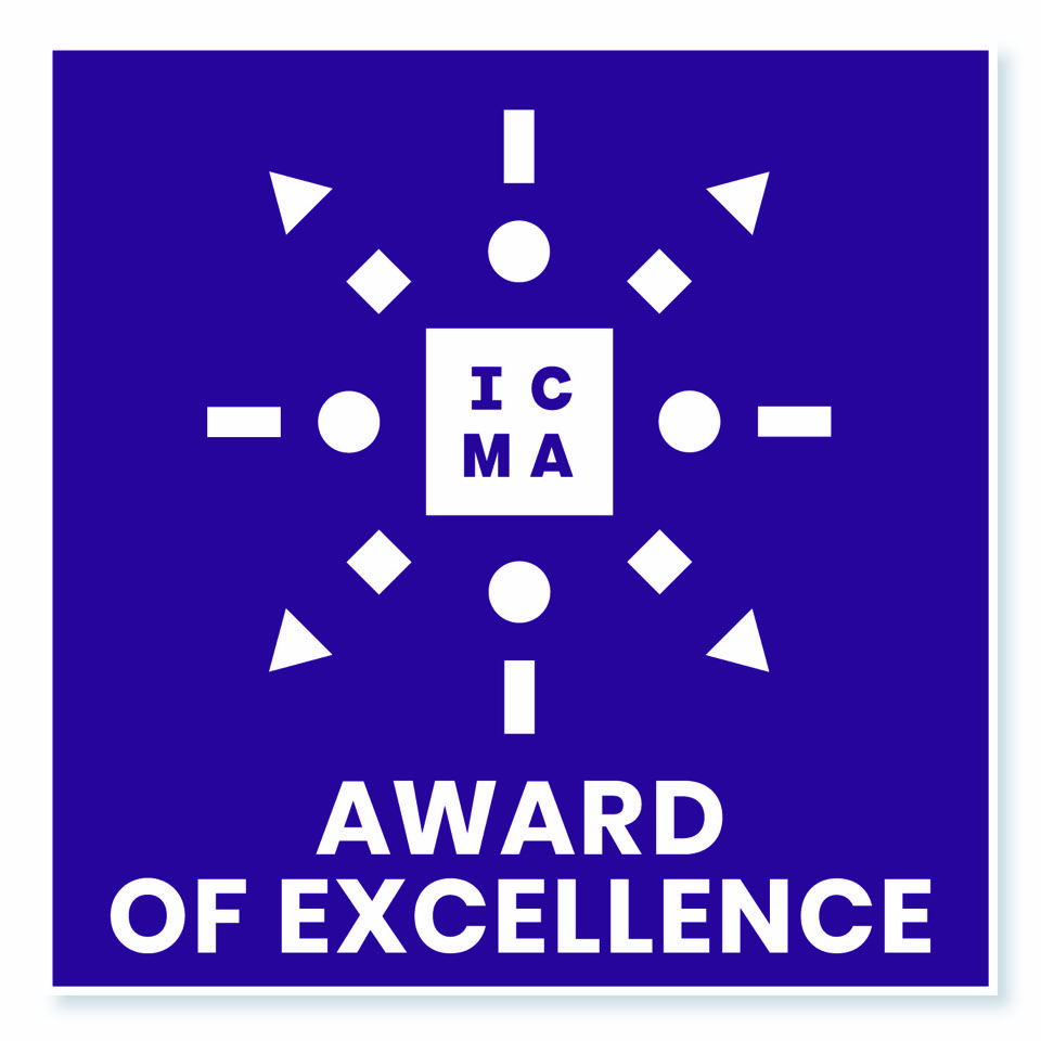 09 ICMA Logo Award 1 Blue